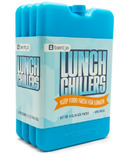 Bentgo Lunch Chillers Ice Packs Set Blue