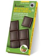 Cocoalicious Mint & Hazelnut 80% Dark Chocolate