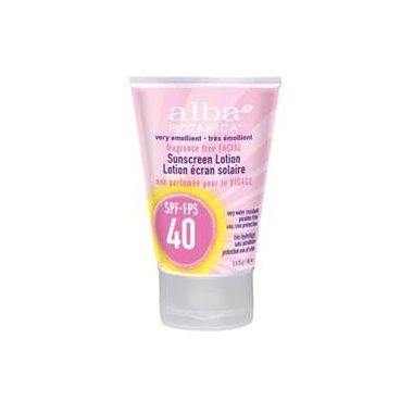 Alba Botanica Very Emollient Facial Sunscreen SPF 40