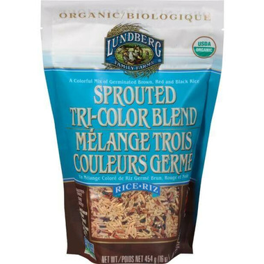 Lundberg Organic Sprouted Tri Color Blend Rice