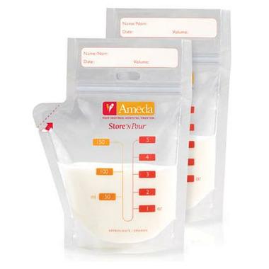 Ameda Store \'N Pour Milk Storage Bags