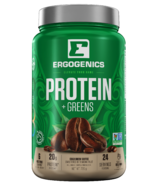 Ergogenics Nutrition Plant Protein + Greens Coffee Flavour