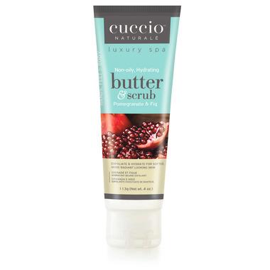 Cuccio Naturale Hydrating Body Butter & Scrub Pomegranate &Fig