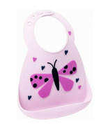 Make My Day Heart In A Flutter Bib