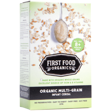 First Food Organics Multigrain Infant Cereal