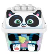 Mega Bloks First Builders Playful Panda Bucket