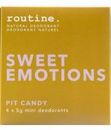 Routine Sweet Emotions Minis Kit
