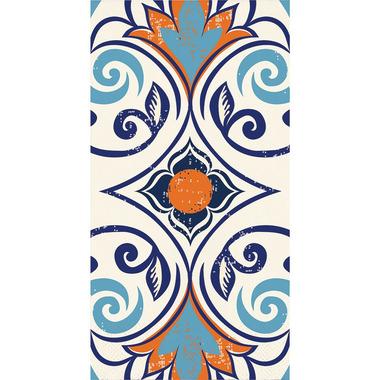 Elise Moroccan Tile 3 Ply Guest Towel Vintage