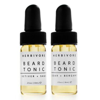 Herbivore Botanicals Beard Tonic Vetiver + Sage & Cedar + Bergamot