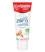 Colgate Zero for Kids 3-24 months Toothpaste Mild Fruit