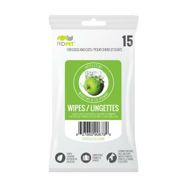 FFD Pet Wipes Bamboo Appletini Daiquiri
