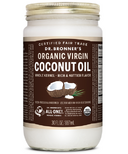 Dr. Bronner's Organic Whole Kernel Virgin Coconut Oil Large