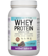 Webber Naturals Active Nutrition Whey Protein Chocolate