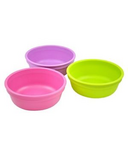 Re-Play Butterfly Bowls Bright Pink, Lime Green and Purple