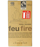 Galerie au Chocolat Fair Trade Dark Chocolate Fire Bar