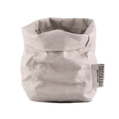 UASHMAMA Paper Bag Small Grey