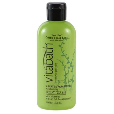 Vitabath Green Tea & Sage Body Wash