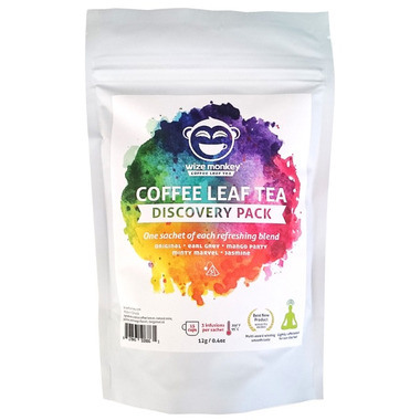Wize Monkey Coffee Leaf Tea Discovery Pack