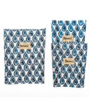 BeeBAGZ Beeswax Bags Lunch Pack Blue