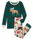 Hatley Woodland Winter Kids Applique PJ Set