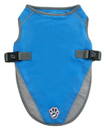 Canada Pooch Chill Seeker Cooling Vest in Aqua Size 10