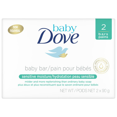 Dove Baby Sensitive Moisture Cleansing Bar