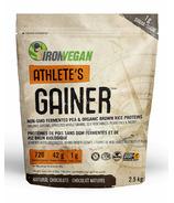 IronVegan Athlete's Gainer Protein Natural Chocolate