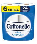 Cottonelle Ultra CleanCare Mega Rolls Toilet Paper