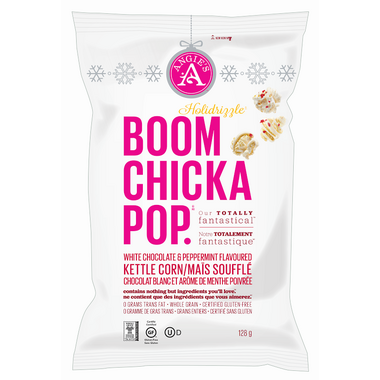 Boom Chicka Pop White Chocolate Peppermint Popcorn