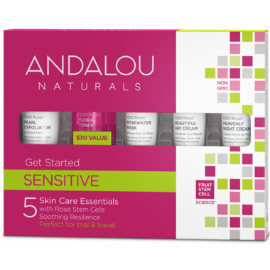 ANDALOU naturals 1000 Roses Get Started Skin Care Kit