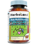 Herbaland Gummy for Kids Multivitamins Sugar Free Formula