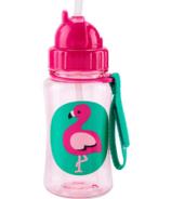 Skip Hop Zoo Straw Bottle Flamingo