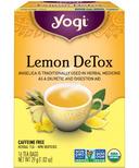 Yogi Tea Lemon DeTox Tea