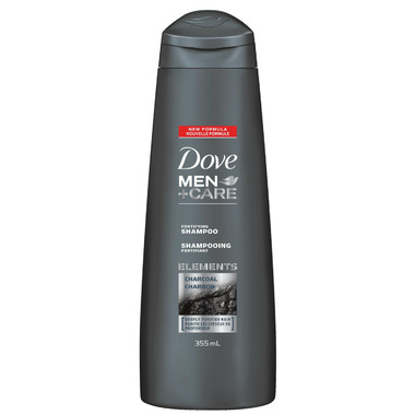 Dove Men+Care Charcoal Fortifying Shampoo