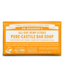 Dr. Bronner's Pure Castile Bar Soap Citrus Orange