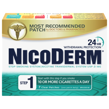 Nicoderm Clear Step 1 Nicotine Patches