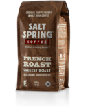 Salt Spring Coffee French Roast Darkest Roast Whole Bean Coffee