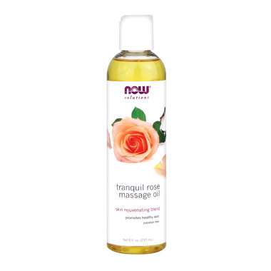 NOW Solutions Tranquil Rose Massage Oil