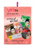 Yes To Joy To Your Skin Masking Kit