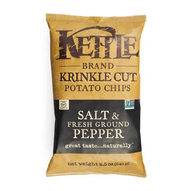 Kettle Salt & Pepper Krinkle Potato Chips