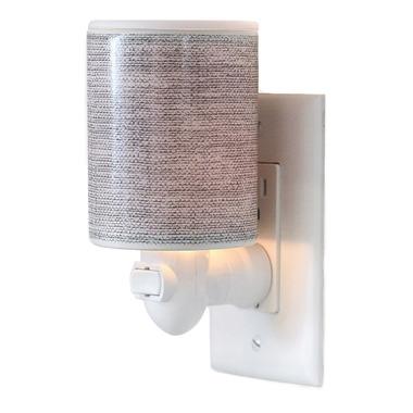 Happy Wax Outlet PlugIn Warmer Gray Linen