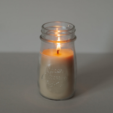 Salt Spring Island Candle Co Milk Bottle Candle