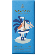 Cacao 70 Sailor Jane Dark Chocolate with Sea Salt