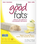 Love Good Fats Lemon Mousse Bars