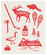 Now Designs Ecologie Swedish Dishcloth Cloth O Canada
