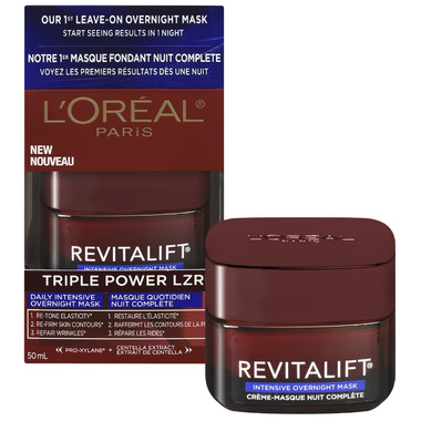 L\'Oreal Revitalift Triple Power LZR Intensive Overnight Mask