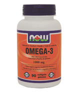 NOW Foods Omega-3 Odour Controlled Softgels