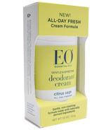 EO Products Deodorant Cream Citrus Sage