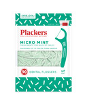 Plackers Micro Dental Flossers Mint