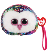 Ty Fashion Owen The Owl Sequin Wristlet